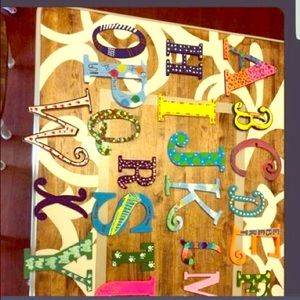 Personalized letters $3 per letter